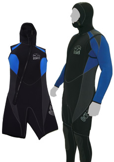 Thick wetsuit